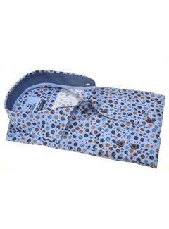 Culture Overhemd Regular Fit Stippen Lichtblauw (514258 - 32)