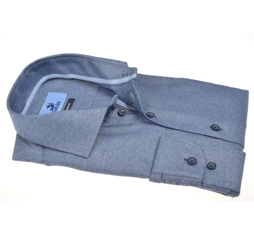 Overhemd Regular Fit Blauw (514259 - 38)