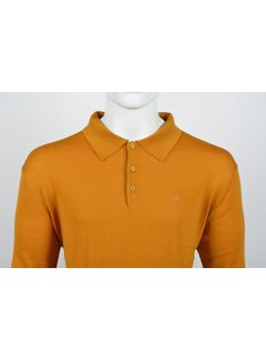 Culture Lange Mouw Polo Oranje (514253 - 65)