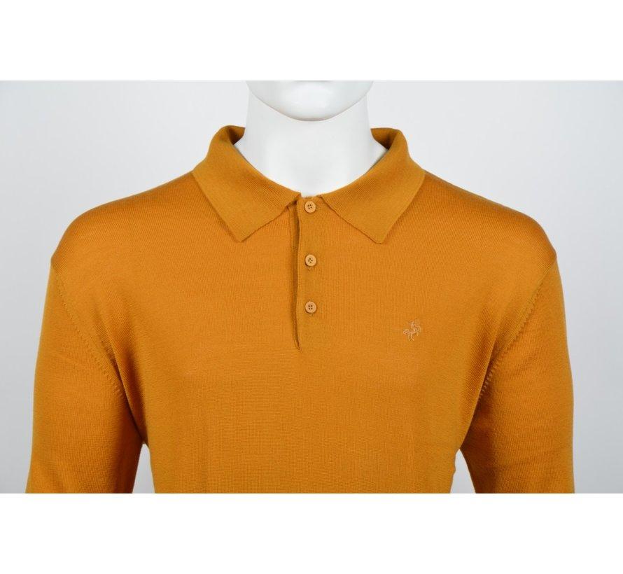 Lange Mouw Polo Oranje (514253 - 65)