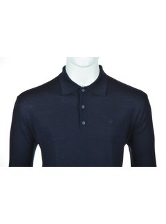 Culture Lange Mouw Polo Navy (514253 - 39)