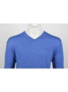 Culture Pullover V-hals Kobalt Blauw (514251 - 34)