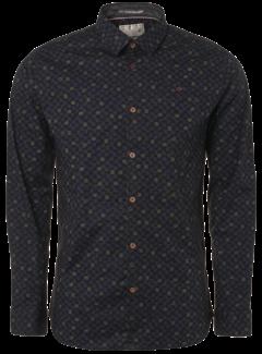 No Excess Overhemd Print Zwart (92430905 - 020)