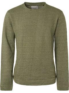 No Excess T-shirt Lange Mouw Moss Groen (94151101 - 152)