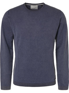 No Excess Pullover Ronde Hals Royal Blauw (94231102 - 135)