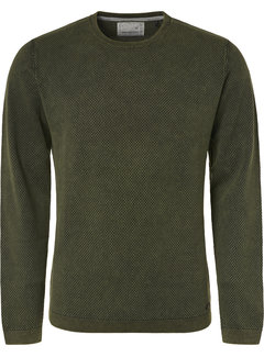 No Excess Pullover Ronde Hals Donker Groen (94231102 - 156)