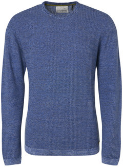 No Excess Pullover Ronde Hals Royal Blauw (94231115 - 135)