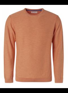 No Excess Pullover Ronde Hals Peach Oranje (95230107 - 172)