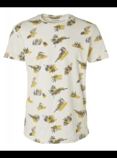 No Excess T-shirt Ronde Hals Print Lime Groen (95340204 - 056)