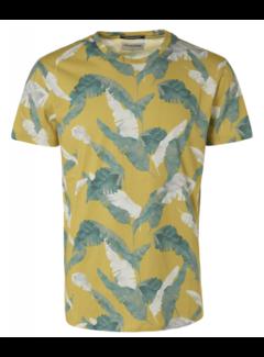 No Excess T-shirt Ronde Hals Print Lime Groen (95360301 - 056)