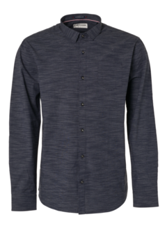 No Excess Overhemd Streep Navy Blauw (95410113D - 078)
