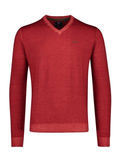 New Zealand Auckland Pullover V-hals Waingaromia Brick Red (20HN441 - 605)