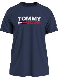 Tommy Hilfiger T-shirt Logo Navy (DM0DM10214 - C87)