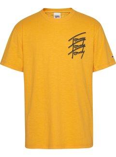Tommy Hilfiger T-shirt Logo Repeat Geel (DM0DM10228 - S00)