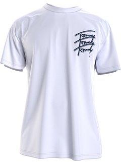Tommy Hilfiger T-shirt Logo Repeat Wit (DM0DM10228 - YBR)
