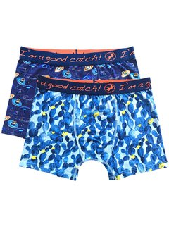 A Fish Named Fred Boxershorts 2-pack Cactus Sombrero (20.01.272)