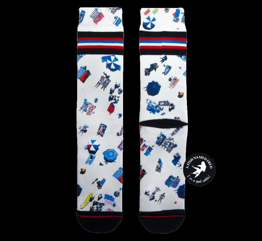x XPOOOS 1Pack Sokken Fred Beach (20.01.264)