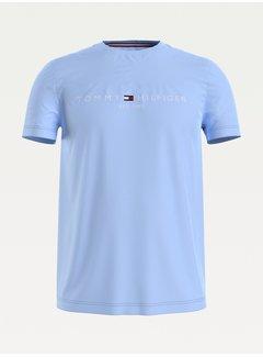 Tommy Hilfiger T-shirt Logo Lichtblauw (MW0MW11797 - C3Q)
