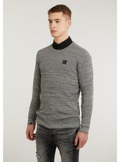 CHASIN' Pullover Basal Mixed Antraciet (3111.337.012 - E90)