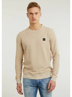 CHASIN' Sweater Burrel Beige (4111.350.002 - E20)