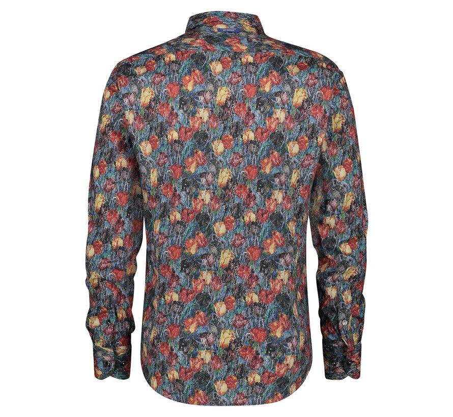 Overhemd Art Tulips (21.02.025)
