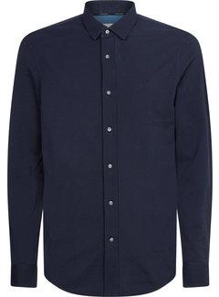 Calvin Klein Overhemd Slim Fit Navy Blauw (K10K107113 - DW4)