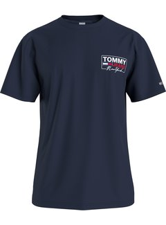 Tommy Hilfiger T-shirt Logo Navy (DM0DM10216 - C87)