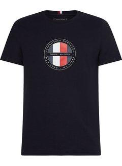 Tommy Hilfiger T-shirt Ronde Hals Desert Sky (MW0MW16593 - DW5)