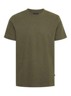 Matinique T-shirt Jermane Ripple Stripe Olive Night (30205221 - 190515)