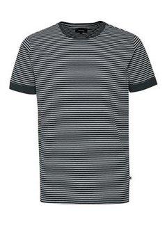 Matinique T-shirt Jermane Cotton Stripe Dark Navy (30205232 - 194011)
