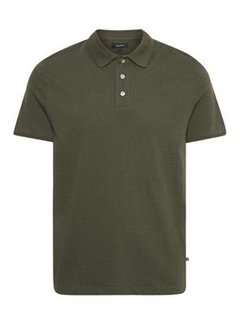 Matinique Polo Poleo Jacquard Olive Night (30205258 - 190515)