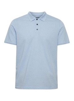 Matinique Polo Poleo Jacquard Chambray Blue (30205258 - 154030)
