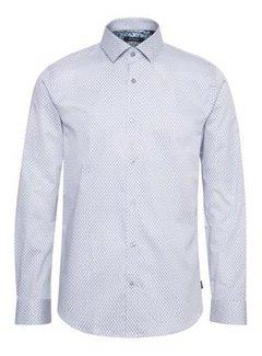 Matinique Overhemd Trostol B5 Print White (30205302 - 114001)