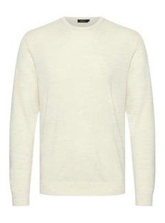 Matinique Pullover Margrate Merino Off White Melange (30200611 - 1101041)
