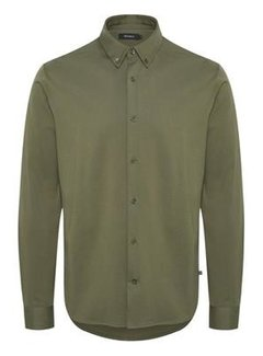 Matinique Overhemd Benji Smooth Jersey Olive Night (30204785 - 190515)