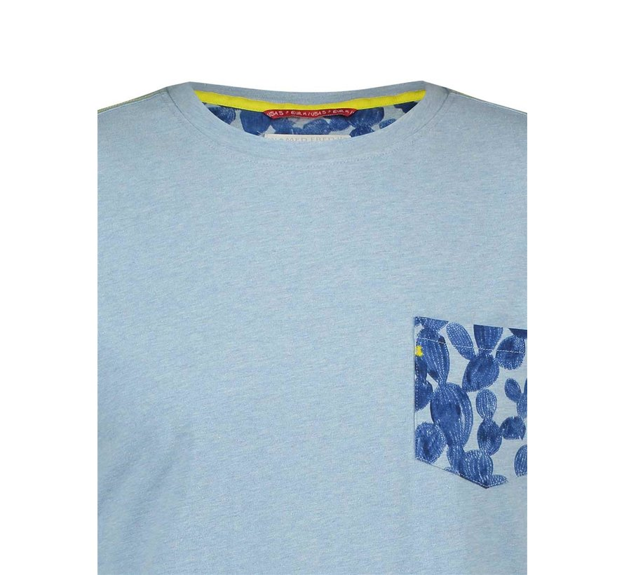 T-Shirt Cactus Light Blue (20.03.408)