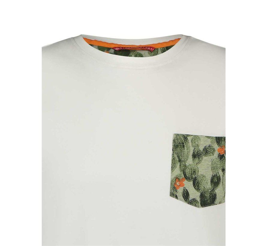 T-Shirt Cactus White (20.03.411)