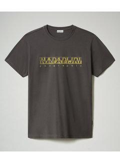 Napapijri T-shirt Ronde Hals Sallar Grijs (NP0A4F9O - 1981)