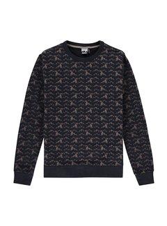 Kultivate Sweater SW Rockies Zwart (2001041009 - 319)