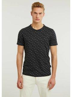 CHASIN' T-shirt MONO Zwart (5211.219.272 - E90)