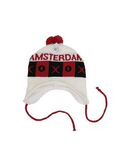 Nieuwnieuw x Amsterdam Muts Wit