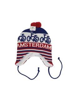 Nieuwnieuw x Amsterdam Muts Rood/Wit/Blauw