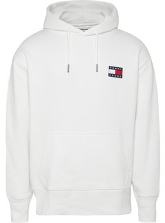 Tommy Hilfiger Hooded Sweater Wit (DM0D0M6593 - YBR)