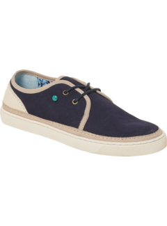 Leather Suede Shoe Navy (90SHOE04)