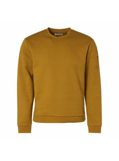 No Excess Sweater Fancy Jacquard Gold (97100718 - 073)
