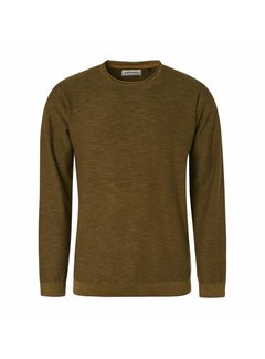 No Excess Pullover Stone Washed Moss Green (97230801SN - 152)