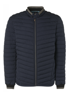 No Excess Tussenjas Padded Navy Blauw (11630102 - 078)