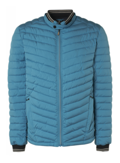 No Excess Tussenjas Padded Pacific Blauw (11630102 - 153)