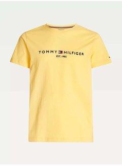 Tommy Hilfiger T-shirt Ronde Hals Geel (MW0MW11797 - ZFF)