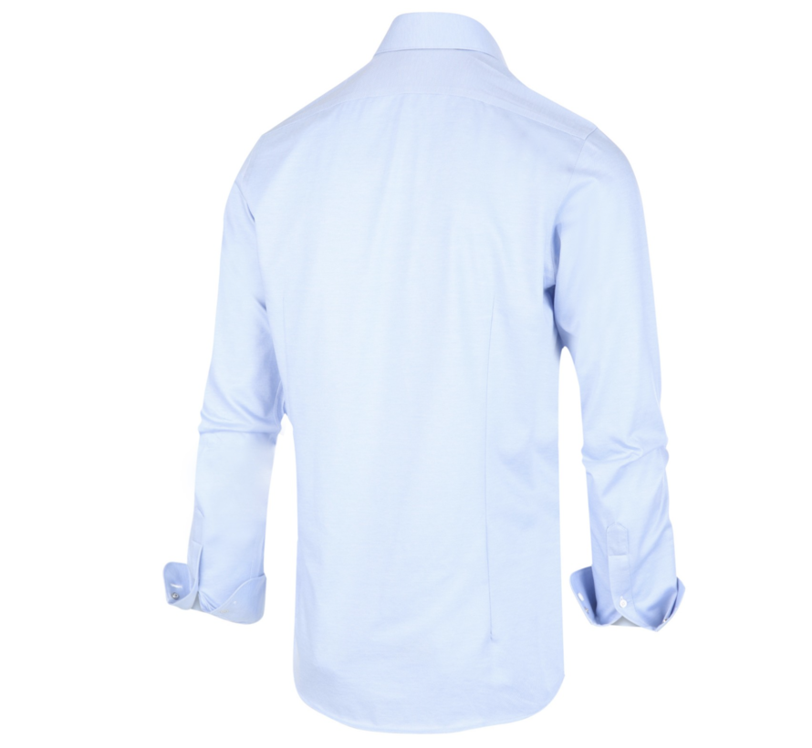 Overhemd Gemeleerd Lichtblauw (1285.92)N
